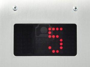 9456184-monitor-show-number-5-floor-in-elevator