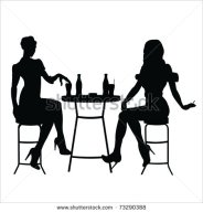 stock-vector-silhouette-girls-73290388