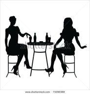 stock-vector-silhouette-girls-73290388