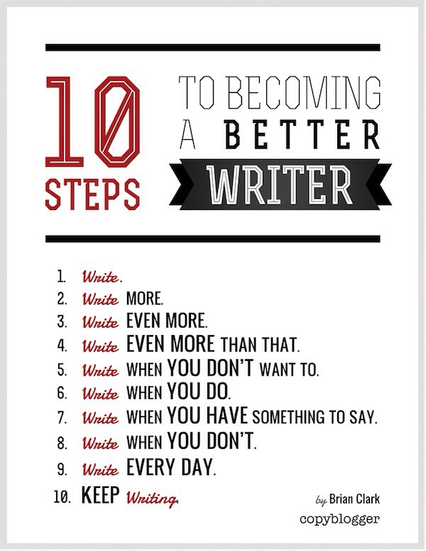 Information on writing a book